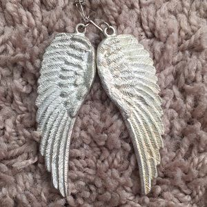 Silver plated Angel Wings necklace